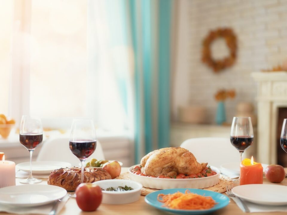 hosting Thanksgiving in your new home